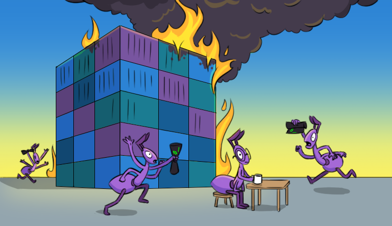 Failure stories #3. How we saved our monitoring system during the OVHcloud fire